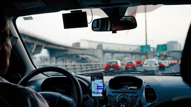 uber and lyft strike