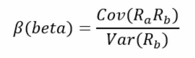 beta calculated