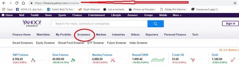 stock screener