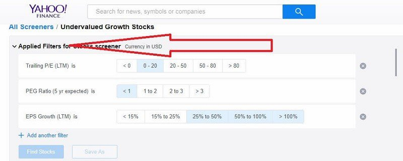 Why and how to use the stock screener