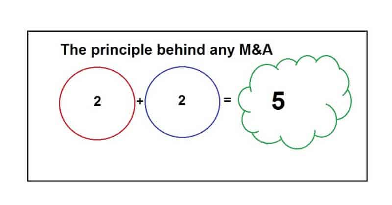 Principle behind and Mergers and Acquisitions
