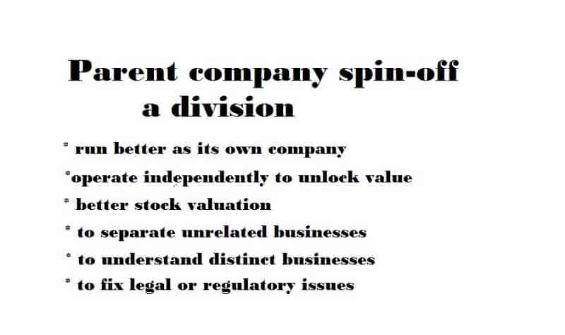 Spin-off company