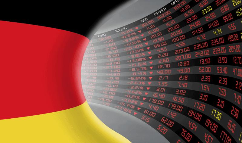 German fears of stock markets' slowdown rose