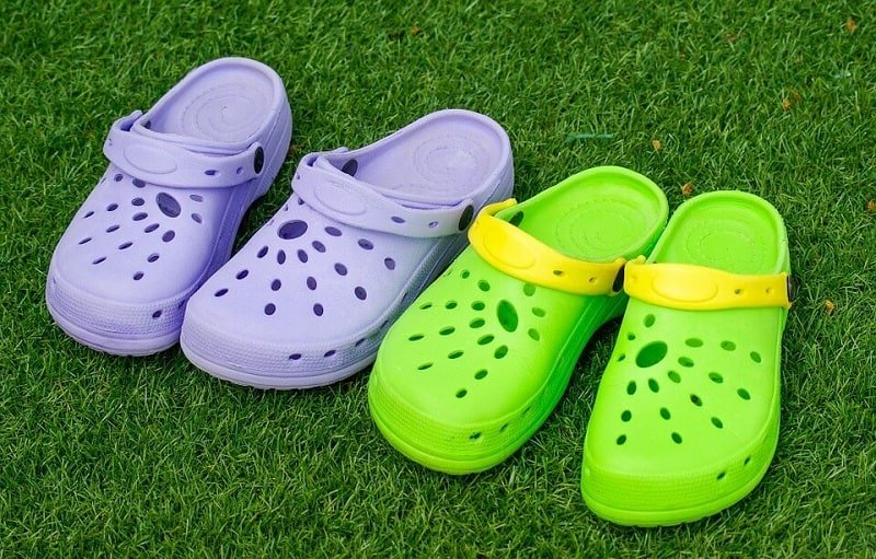 Crocs Clogs Of Two Digits