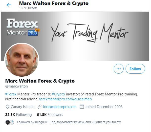 Mark Walton Forex Mentor Pro