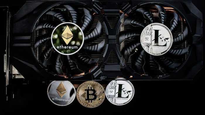 Mining with GPU versus CPU